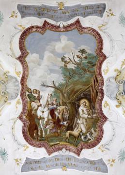 Рисунок осенний замок